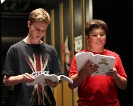 Danny & Seth-rehearsal