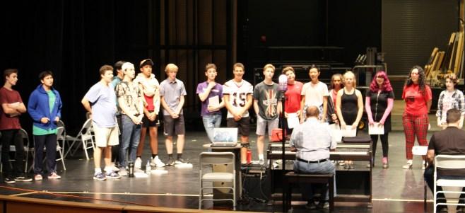 group rehearsal
