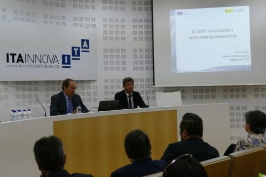 CDTI presenta en Aragón novedades en sus incentivos para impulsar la I+D+i en las empresas