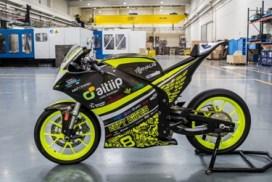 La motocicleta del equipo EUPTBIKES, fabricada en impresión 3D en las instalaciones de Aitiip, gana la competición MotoStudent 2016