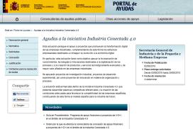 Nueva convocatoria 2018 para la concesión de ayudas dirigidas a proyectos de investigación, desarrollo e innovación en el ámbito de Industria Conectada 4.0