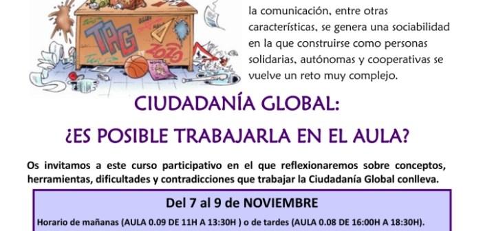 Curso formación sobre Educación para la Ciudadanía Global para estudiantes