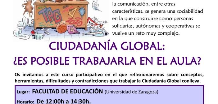 """Curso de formación """"Trabajando por la ciudadanía global en el aula"""" 2017"""