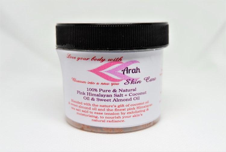 Pink Himalayan Salt Scrub
