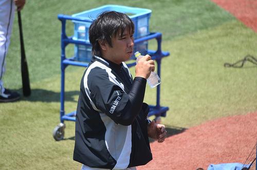 2014年 千葉ロッテマリーンズの沖縄石垣島春季キャンプ観戦のために