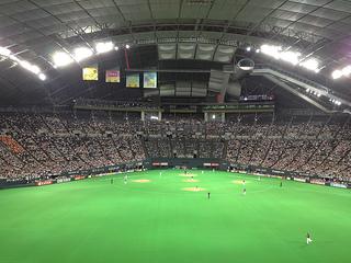 【座席表】札幌ドーム