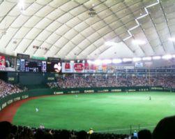 【座席表】東京ドーム