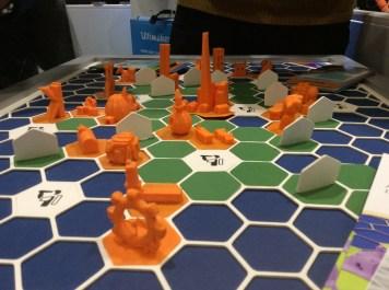 3D printed village