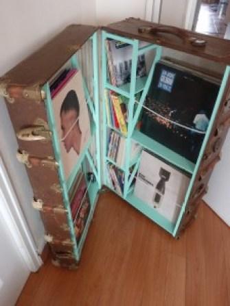 valise à vinyles