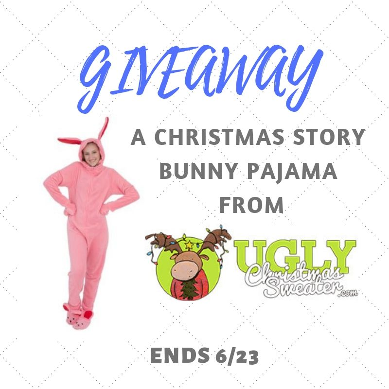 A Christmas Story Bunny Pajama Giveaway