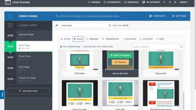 ClickFunnels Build Online Marketing Funnels to get higher conversion rate