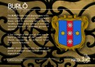 The BURLO' coat of arms