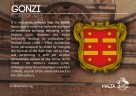 The GONZI coat of arms