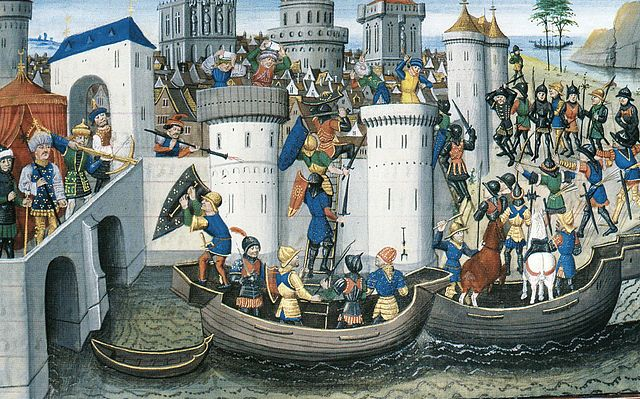 onquest of the Orthodox city of Constantinople by the crusaders in 1204