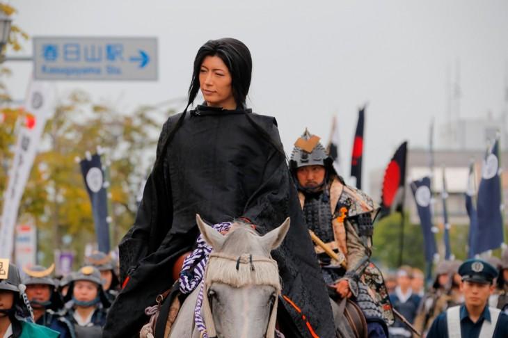 GACKT's appearance at the 2014 Kenshin Kousai Parade