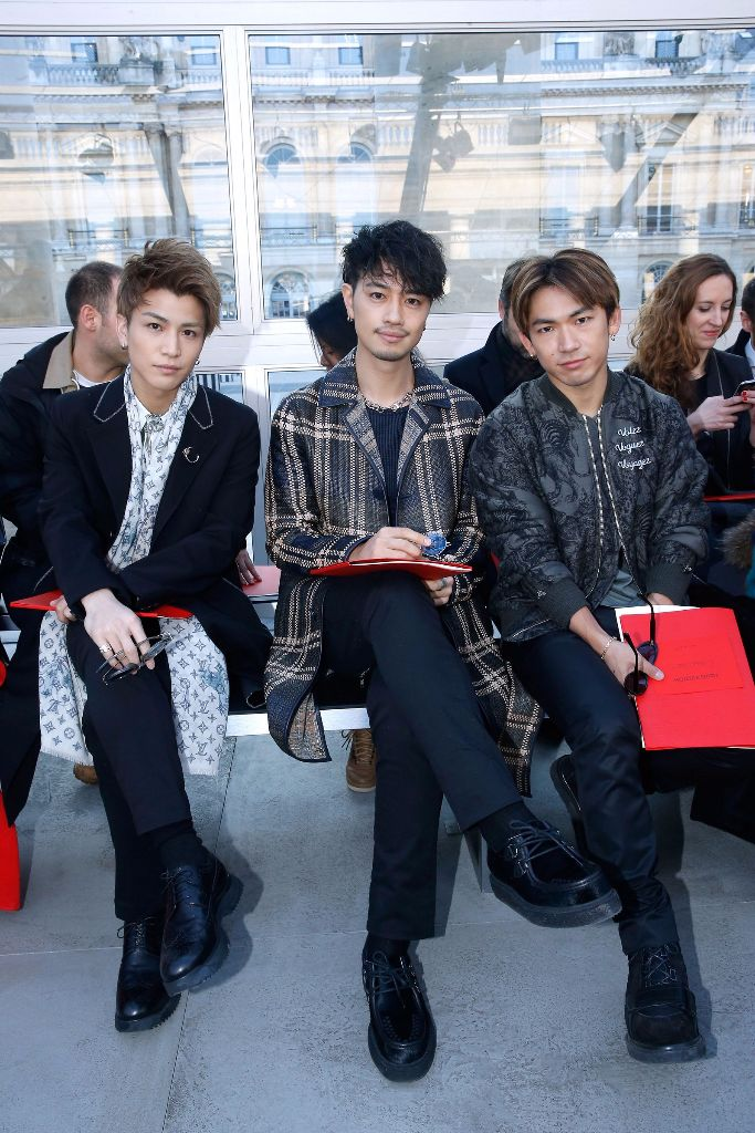 Vogue Reports of Sandaime J Soul Brothers Paris Fashion Week Takeover