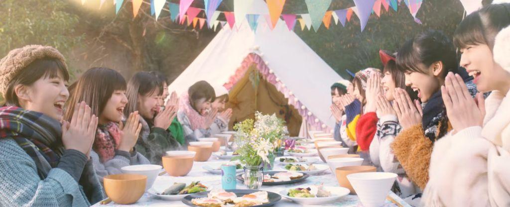 """Morning Musume '17 celebrate miso soup in """"Morning Miso Soup"""" MV"""