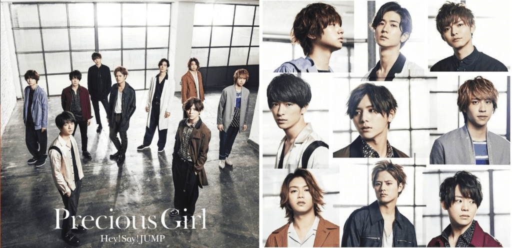 "Hey! Say! JUMP! / A.Y.T. releases single previews for ""Precious Girl / Are You There?"""