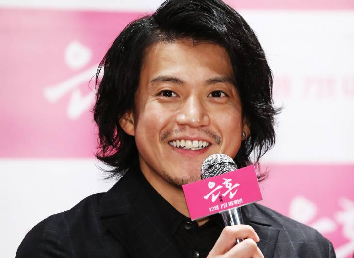 Shun Oguri promotes live-action Gintama film in South Korea