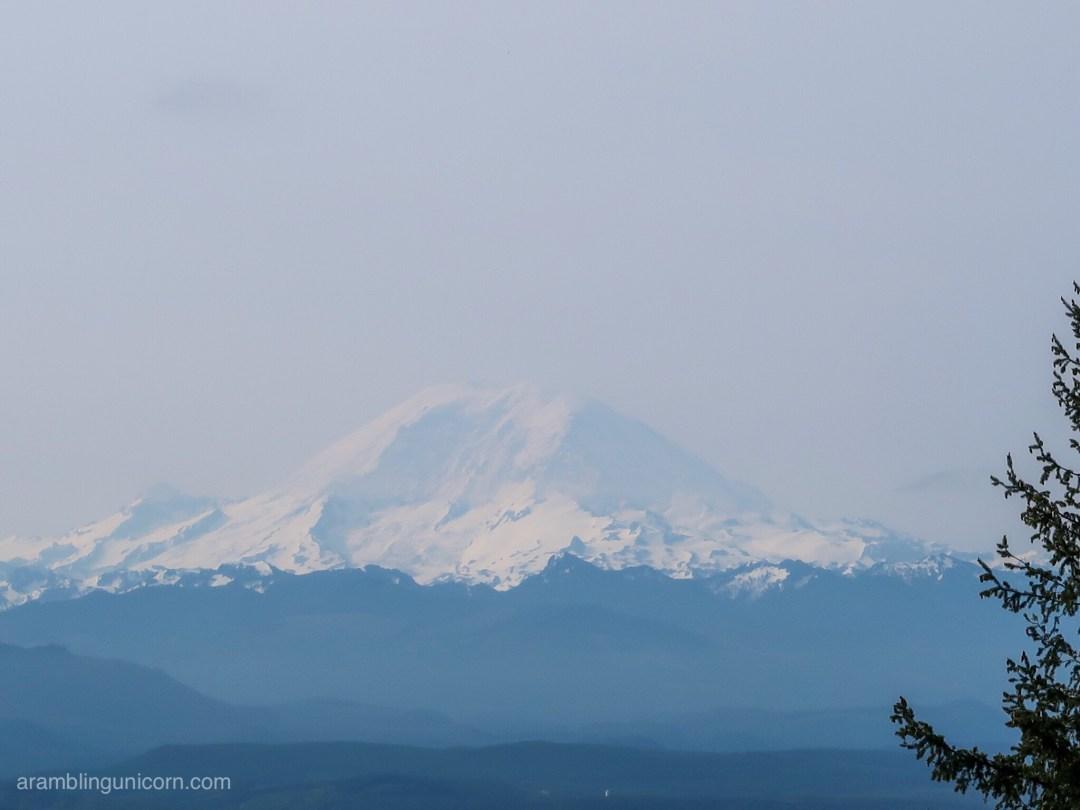 What a fabulous view of Mount Rainier