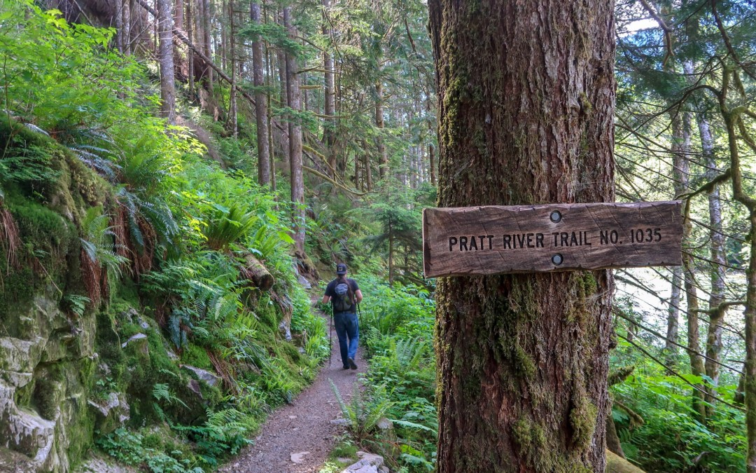 Exploring the Wild and Beautiful  Snoqualmie River: Pratt River Connector Trail