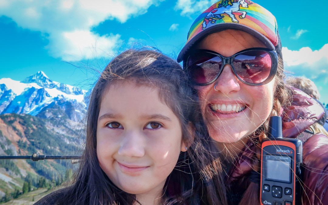 Aunty-Niece Day at Mt. Baker's Artist Point and Heather Meadows