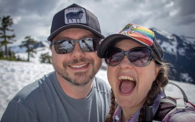 Pre-Wedding Visit to Artist Point and Nooksack Falls