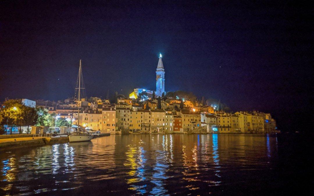 Chillaxing in the Sleepy Seaside town of Rovinj, Croatia