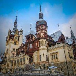 Exterior of Peleș Castle.