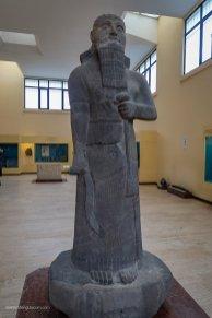 Statue of a King: Shalmaneser III (858-824 B.C.)