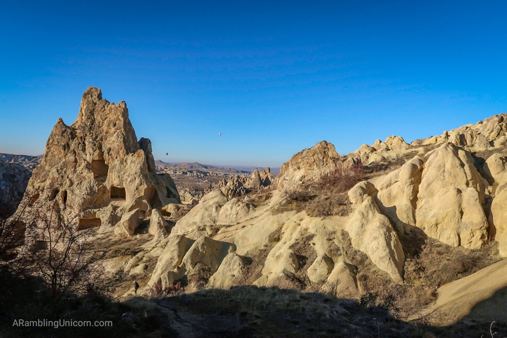 Cappadocia Itinerary Day 1: View from the Open Air Museum