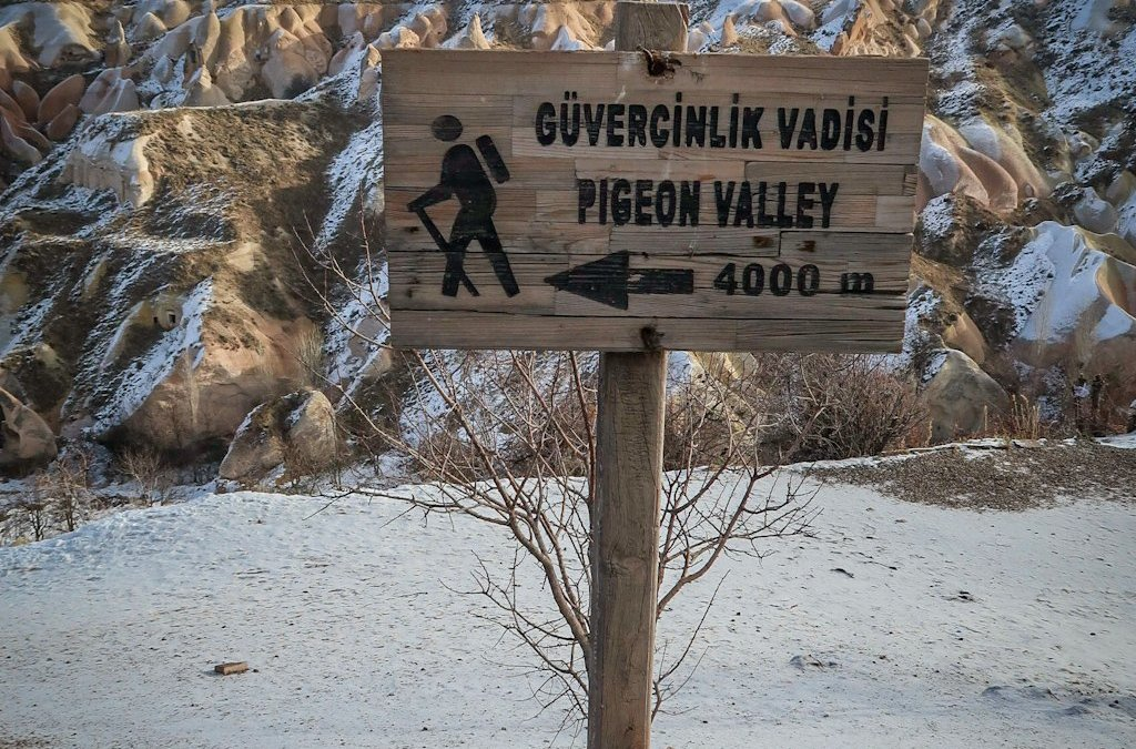 The Pigeon Valley Trail: A Cappadocia Hiking Adventure
