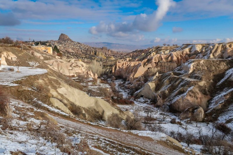 Cappadocia Itinerary Day 2: Pigeon Valley Overlook