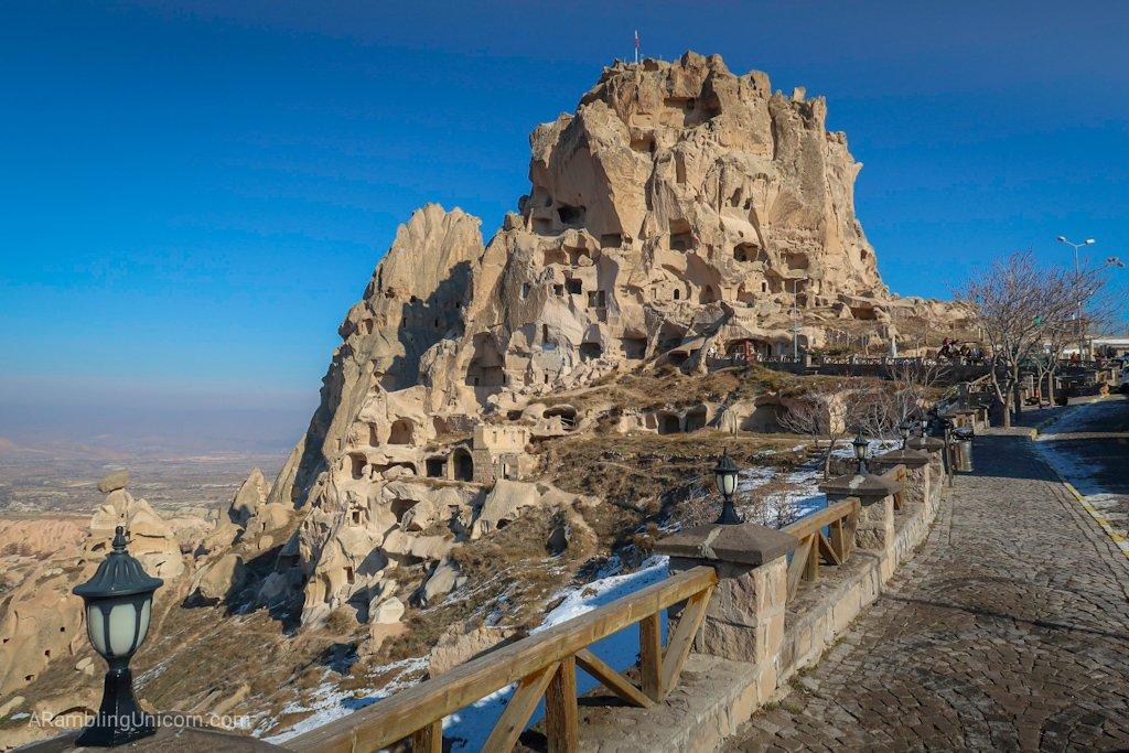 Cappadocia Itinerary Day 3: Uçhisar Castle