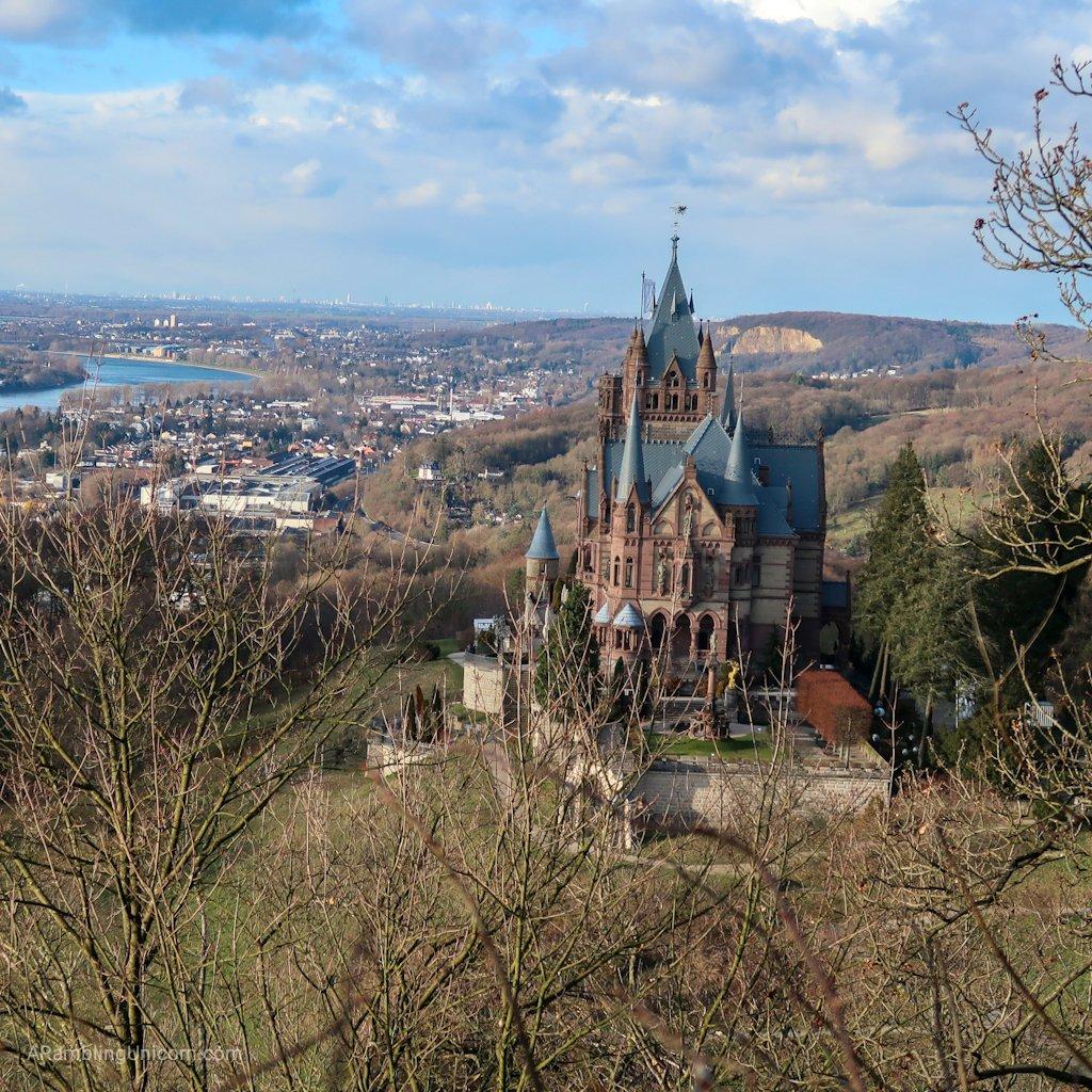 Drachenburg Castle: the fairy tale spires of Drachenburg Castle