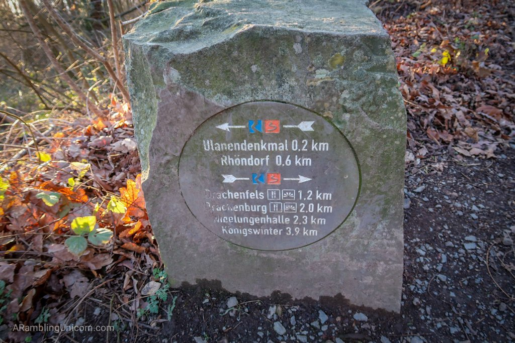 Trail marker!