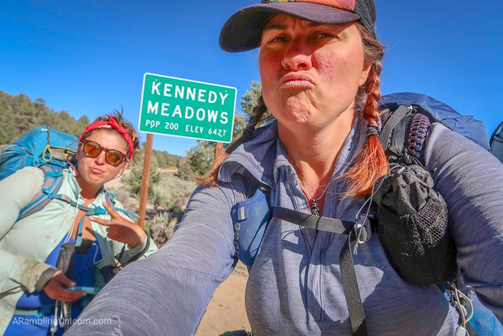 Monarch and I finally reached Kennedy Meadows! This is a big milestone on the PCT.