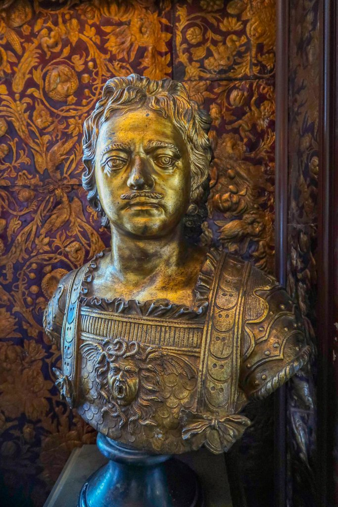 Copenhagen Blog: Bust of Tsar Peter the Great