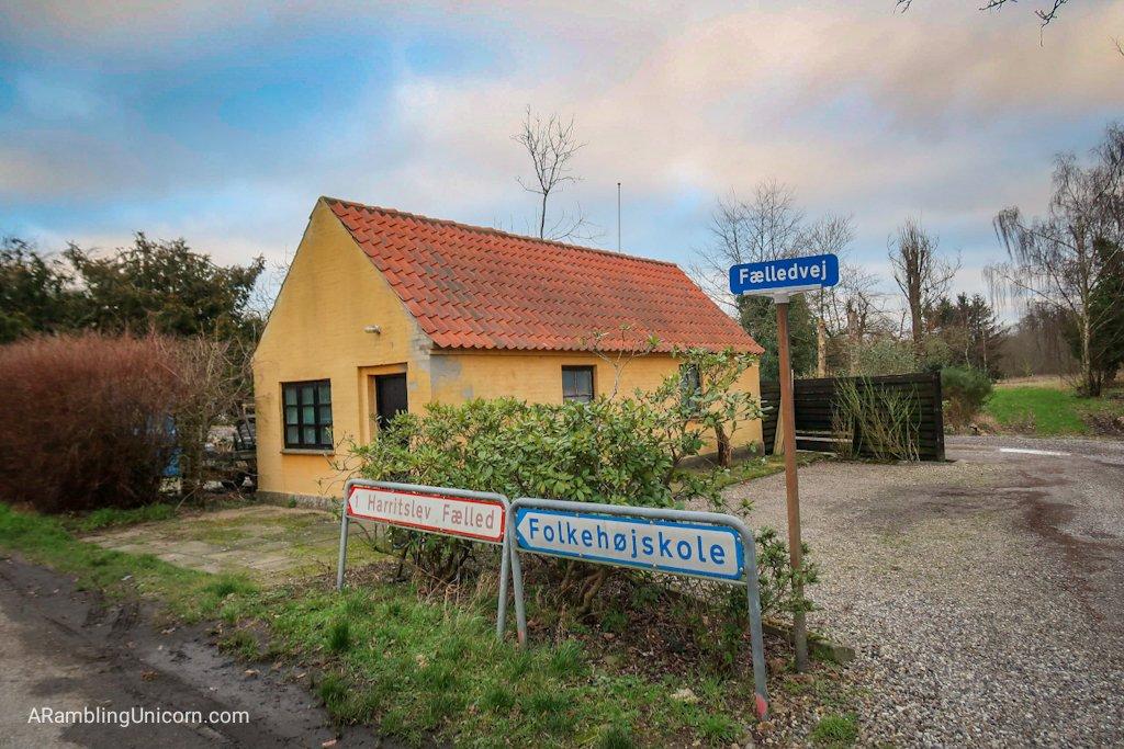 Odense blog: This way to the Folk High School (Folkehøjskole)