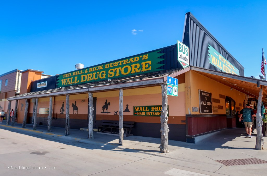 Wall Drug Store – A Kitschy Paradise