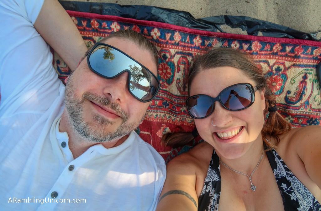 A Lazy Beach Day at Warren Dunes State Park