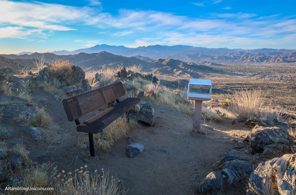 South Park Peak and High View Nature Trails in Joshua Tree National Park