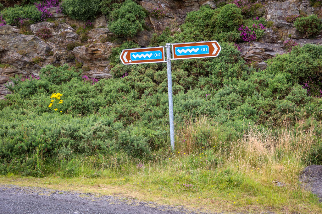 Roadsign Marker for the Wild Atlantic Way