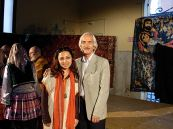 With Morshed Torabi