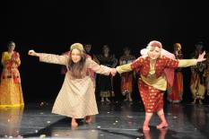 Milano Danza Expo' 2011 ,Aram Ghasemy, Sanaz Hosseini, foto by:Barbara Altomare