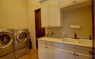 Laundry and Master closet