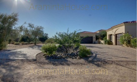 Araminta House welcomes you with a circular driveway