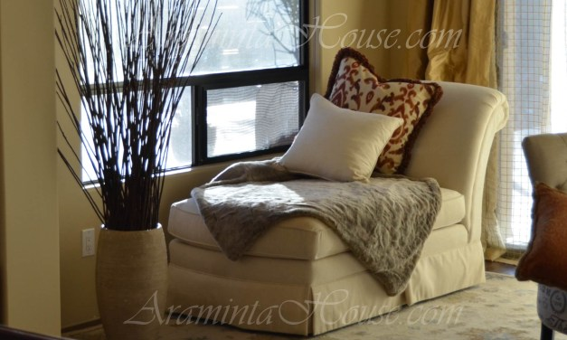 Rest or work in the Master suite