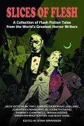 Cover art for Slices of Flesh by comic artist, Mike Mignola (artist and creator of Hellboy)