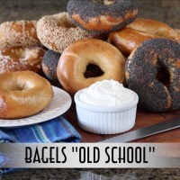"Bagels ""Old School"" - Hand Shaped, Boiled, and Hearth Baked"